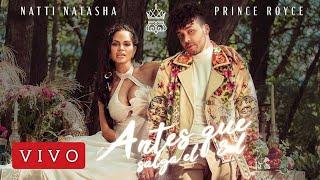 Natti Natasha × Prince Royce ( LIVE WITH ROYCEMP4)  antes que salga el sol MUSIC VIDEO