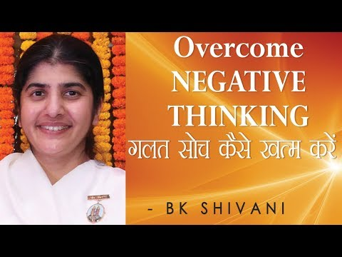 Overcome NEGATIVE THINKING: Ep 48 Soul Reflections: BK Shivani (English Subtitles)