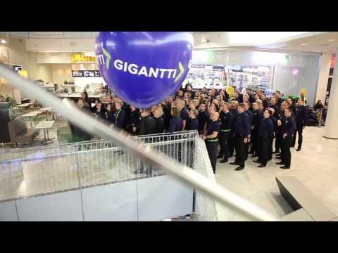 Gigantti Forum -myymälän avajaistunnelmia Helsingistä (2014)