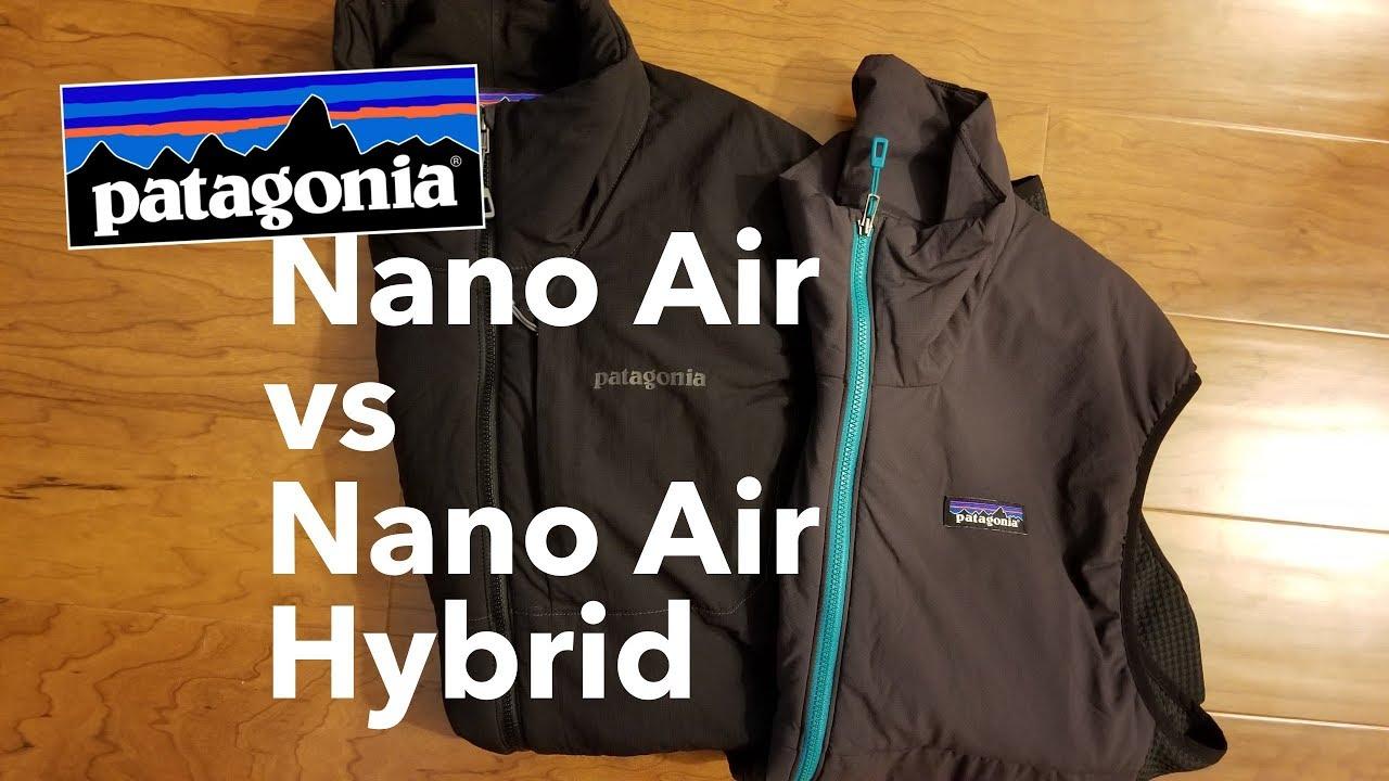 ccb9b049b9 Best Men's Packable Vest! Patagonia Nano Air Light Hybrid Jacket Comparison  Review