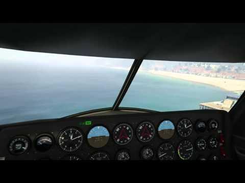 ocean plane crash caught on gopro camera: Santa Monica CA.