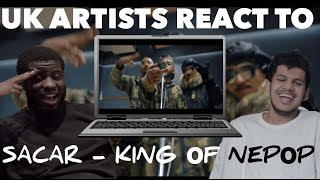 SACAR aka. Lil Buddha ft. Uniq Poet - King of NEPHOP | UK ARTISTS REACT!!!