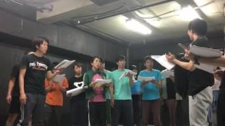 稽古場風景「アクセント」 マキノノゾミ 検索動画 30