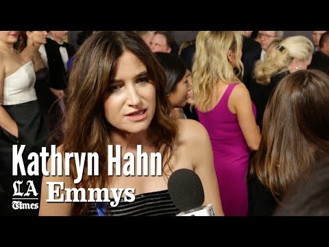"Emmys 2017: Kathryn Hahn Of ""Transparent"" Talks Favorite Female Actresses 