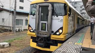JR東日本E257系500番台(幕張車両センターNB-19編成)。
