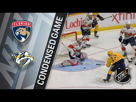 Florida Panthers vs Nashville Predators – Jan. 20, 2018 | Game Highlights | NHL 2017/18. Обзор матча