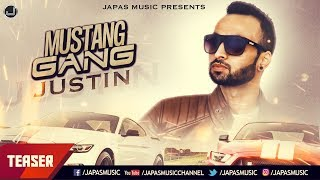 LATEST PUNJABI SONG 2018 | TEASER |  MUSTANG GANG | JUSTIN | JAPAS MUSIC
