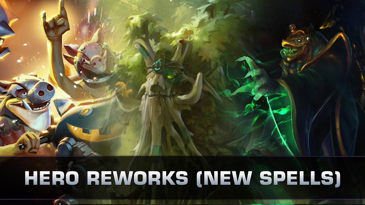 dota 2 hero reworks new spells patch 7 00 youtube