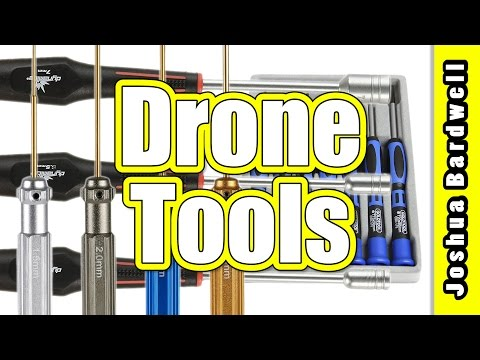 Quadcopter FPV Racing Drone Beginner Tools | HEX DRIVER, SCREW DRIVER, NUT DRIVER