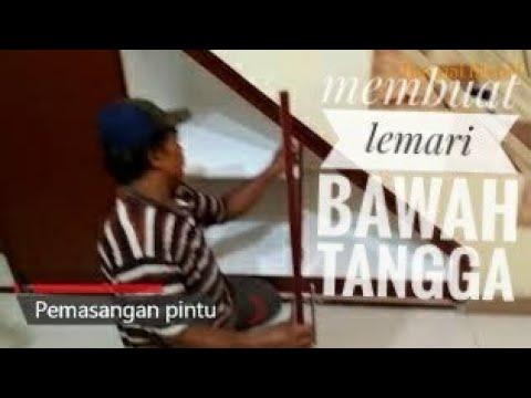 cara membuat lemari tangga