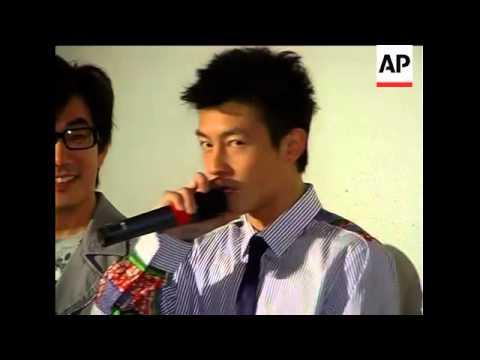 Edison Chen In Singapore To Promote His Film Sniper
