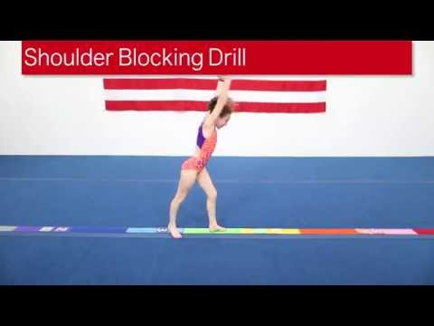 Shoulder Blocking Drill For Vault