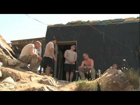 Afghan Pakistan border with U.S. Soldiers (Part 2 of 2)