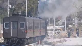 真岡鉄道 SL 20180127