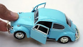 Unboxing of VW Beetle Bug Replica 1:36 Scale Diecast Model Car
