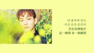 [中韓歌詞] Cover by CHEN - '모든 날, 모든 순간' Every Day, Every Moment (폴킴)([Chinese/Korean sub]