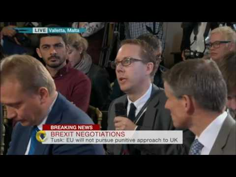 Article 50: EU27 set out their Brexit negotiating position