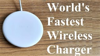 Huawei 15W Fast Wireless Charger - Unboxing and Full Review