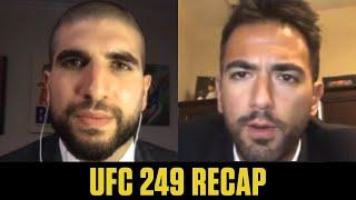 Justin Gaethje beats Tony Ferguson to win interim title | UFC 249 Recap | ESPN MMA