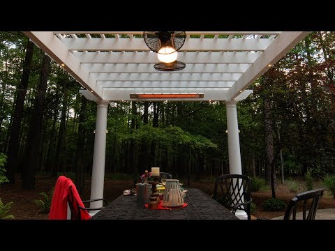 Adding Infrared Heaters to Your Outdoor Structure Or Pergola