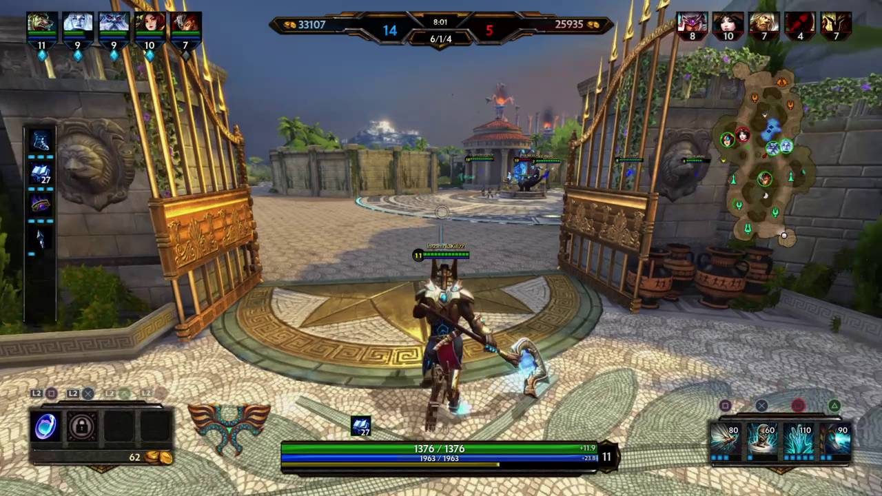 PROJECT OLYMPUS Changes in Smite 5.5
