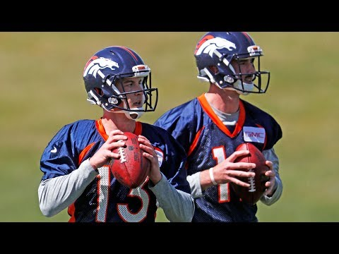 Paxton Lynch looking like early favorite for Denver Broncos starting QB position