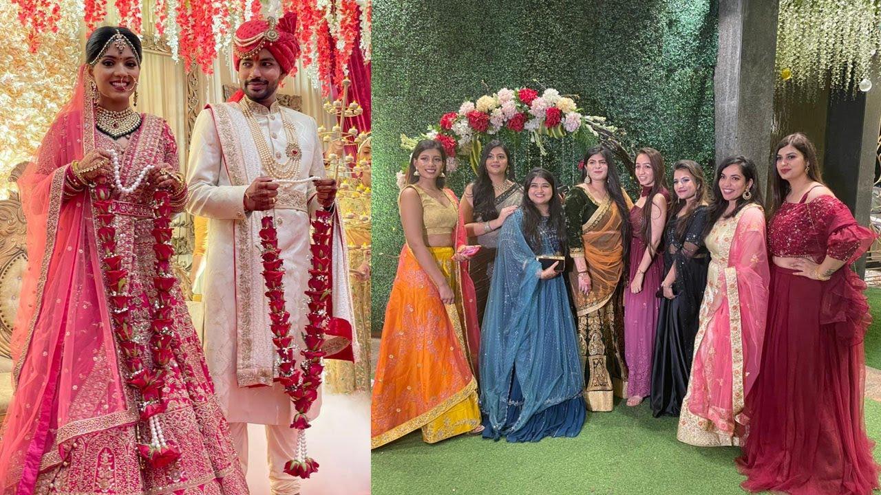😱LUJOSA NOCHE DE HENNA Y BODA HINDÚ CON MI CUÑADA INDIA*su mejor amiga se casó*