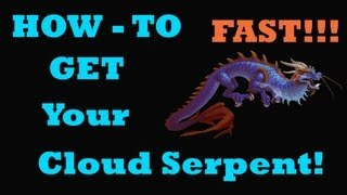 Cloud Serpent Mount Farming Tips With Add-On- Onyx Eggs (Order of the Cloud Serpent)
