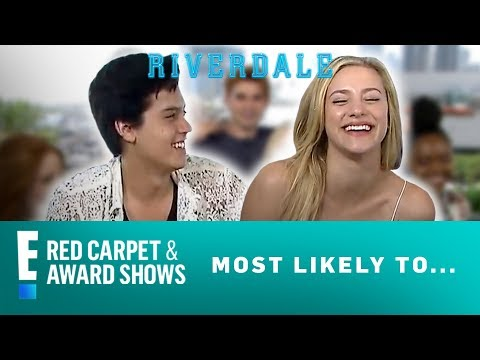 """""""Riverdale"""" Cast Plays 'Most Likely To' Game 