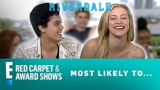 """Riverdale"" Cast Plays 'Most Likely To' Game 