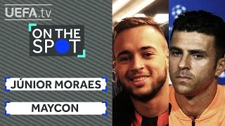ON THE SPOT: Which SHAKHTAR team-mate would MAYCON want to be stranded with on a desert island?
