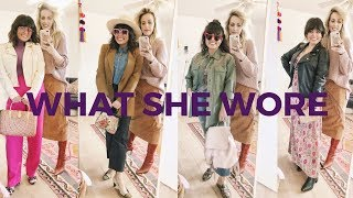 WHAT SHE WORE// FEATURING JENNY AND HER CLOSET