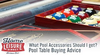 Snooker Accessories - What Accessories Should I get with my Pool Table? - Pool Table Buying Advice