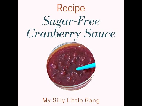 Sugar Free Cranberry Sauce Recipe