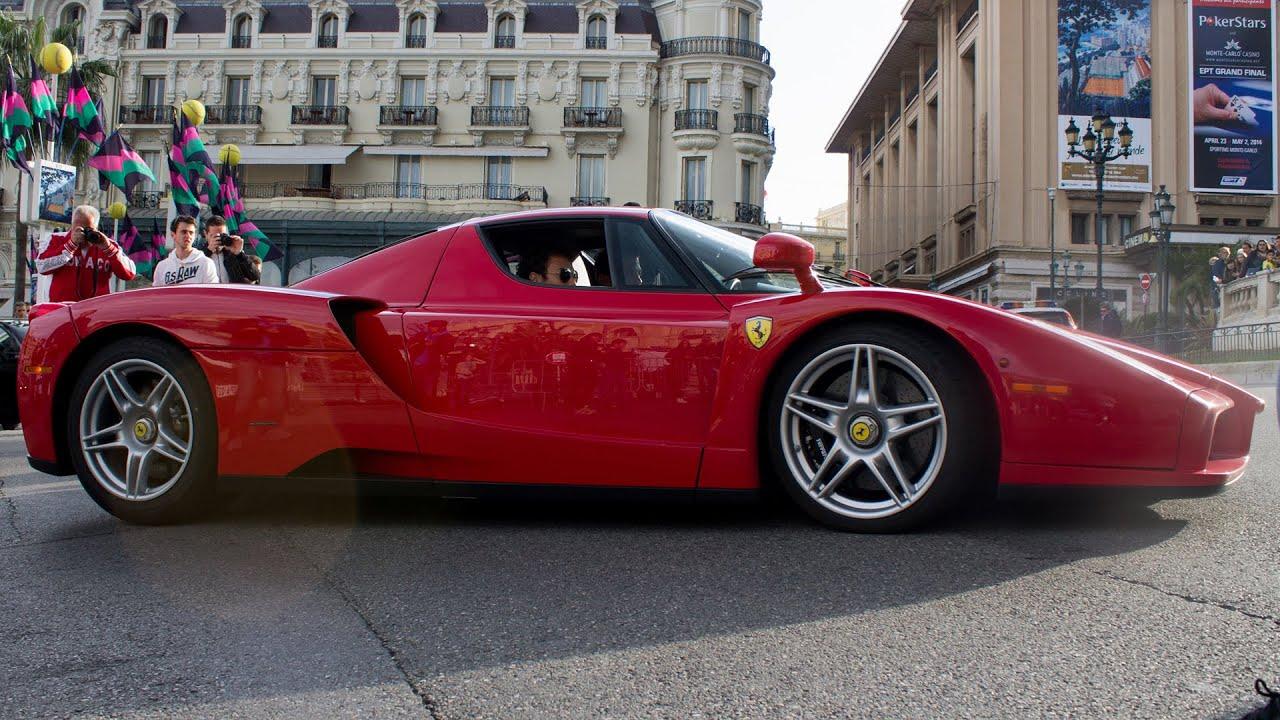 FERRARI ENZO  Driving in Monaco 2014 HQ  YouTube