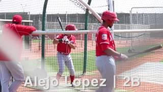 Cincinnati Reds prospect Alejo Lopez hitting YouTube Videos