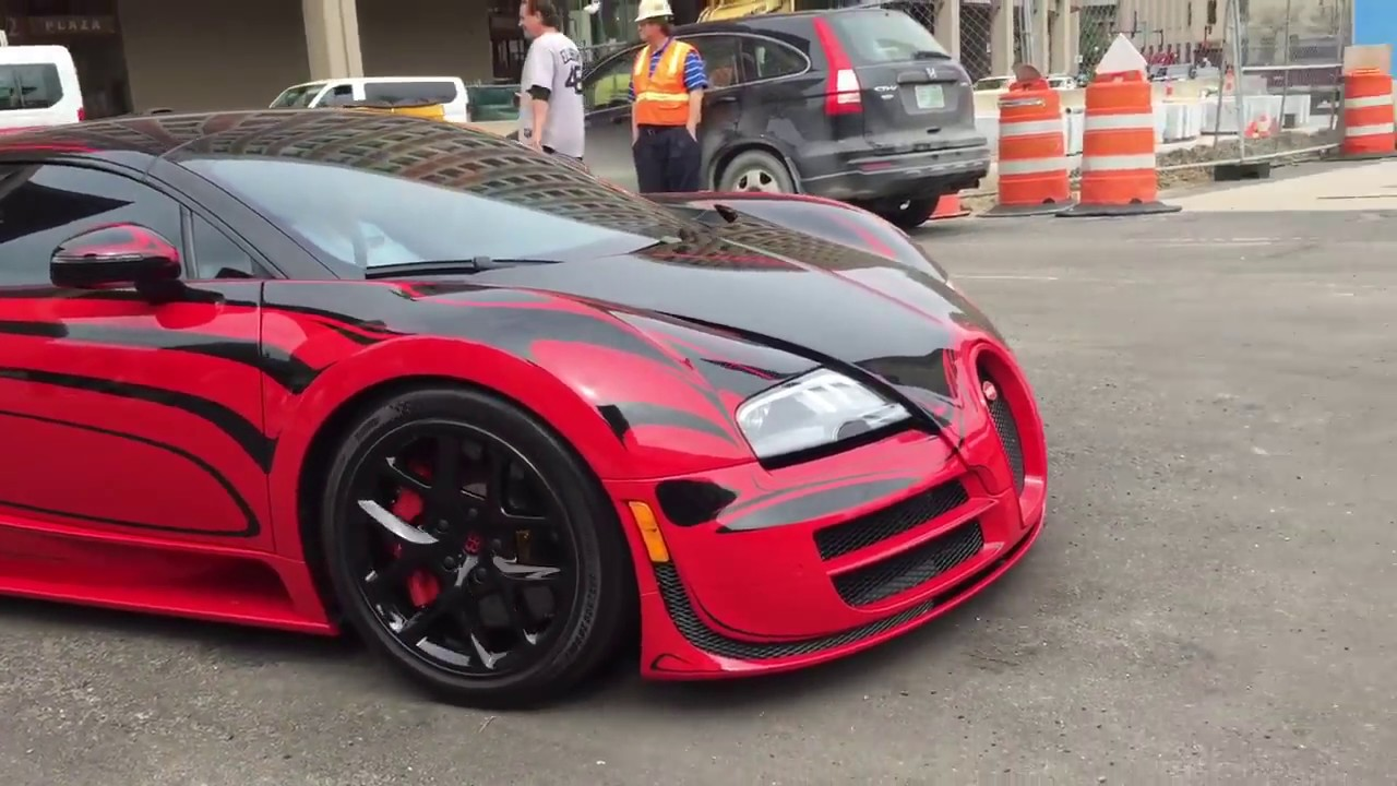 gold rush rally car show - YouTube Bugatti Vision F Naf on