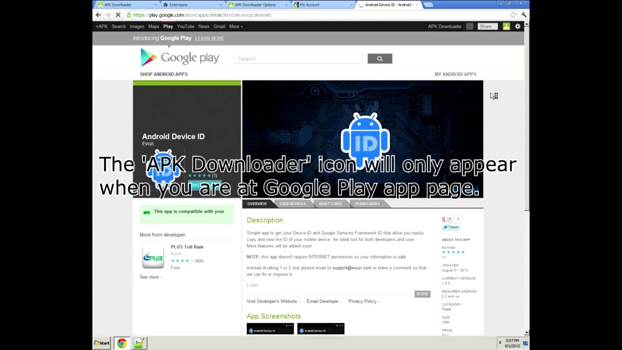 Apk downloader download android apps from google play to comp