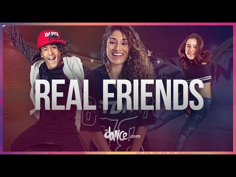 Real Friends  Camila Cabello ft Swae Lee  FitDance Teen & Kids Coreografía Dance
