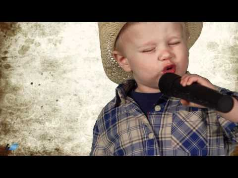 Jason Aldean's Dirt Road Anthem by 2 year old (parody)