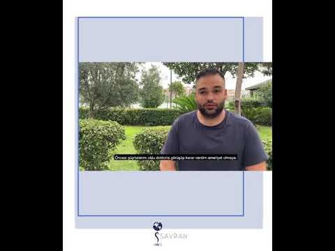 Liposuction Ameliyatı Olan Hastamızın Süreci