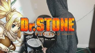 Dr. Stone OP『Good Morning World!/BURNOUT SYNDROMES』Drum Cover (叩いてみた)