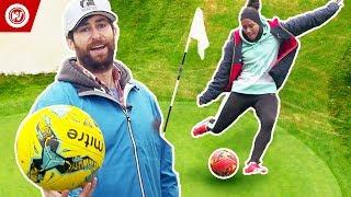 Scott Rogowsky Shows You Weird Sports   FootGolf