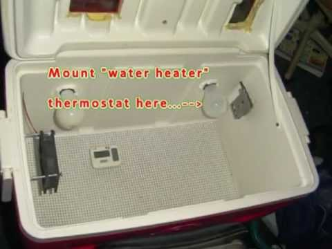 How to Install a Thermostat in your Home Made Egg