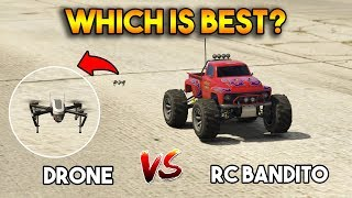 GTA 5 ONLINE RC BANDITO VS DRONE (WHICH IS BEST)