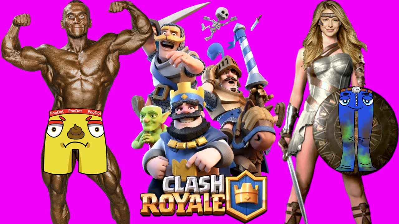 Download NOOBS PLAY CLASH ROYALE FROM START LIVE