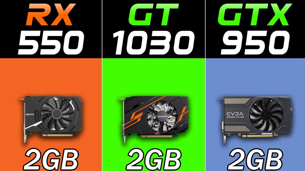 RX 550 Vs. GT 1030 Vs. GTX 950 | New Games Benchmarks in 2021