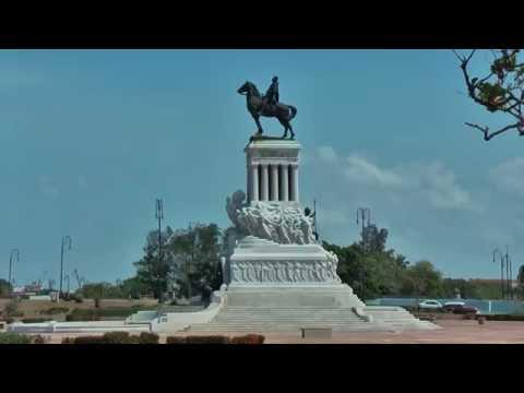 Statue Generalisimo Máximo Gómez y Báez in Havana, Cuba