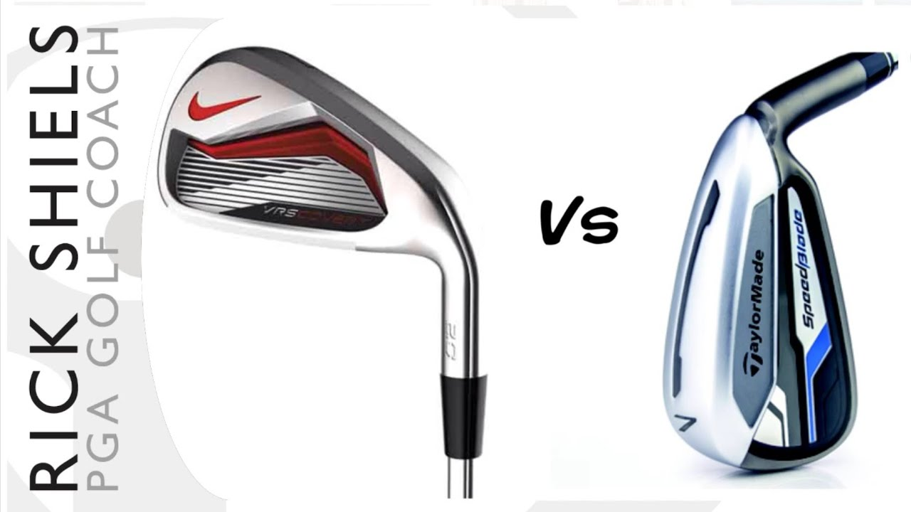0ae5ef2da123 NIKE VR S COVERT 2.0 Vs TAYLORMADE SPEEDBLADE IRONS - YouTube