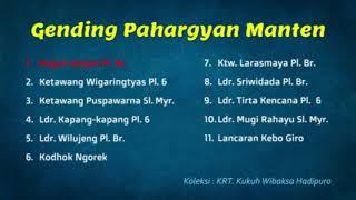 GENDING PAHARGYAN MANTEN #1